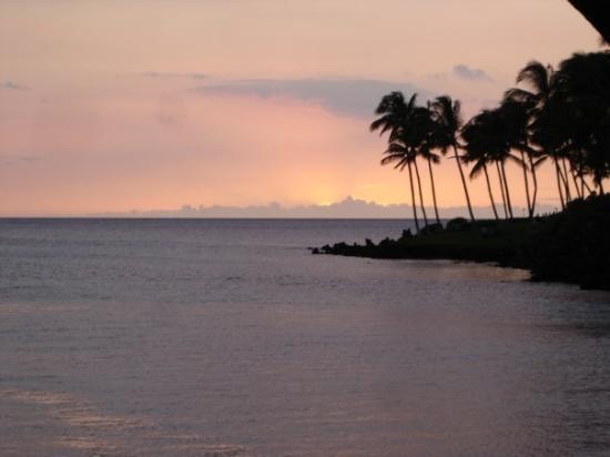 Hilo, ฮาวาย: Island sunset