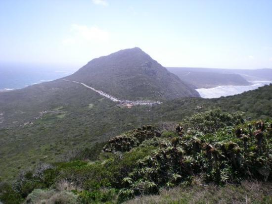 ใจกลางเมืองเคปทาวน์, แอฟริกาใต้: Océan Indien et Océan Atlantique.