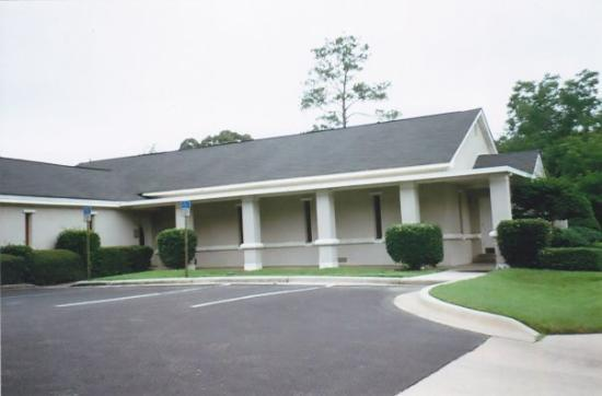 This is the old Graceville First Assembly of God where Barb and I were married on 22 May 1992.