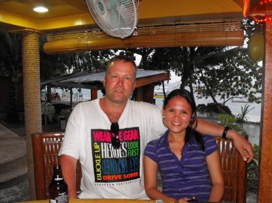 Panglao Island, ฟิลิปปินส์: me and aubery