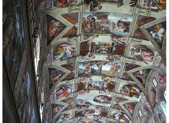 พิพิธภัณฑ์วาติกัน: Sistine Chapel!