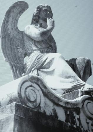 นิวออร์ลีนส์, หลุยเซียน่า: One of the few remaining statues at Lafayette cemetery #1