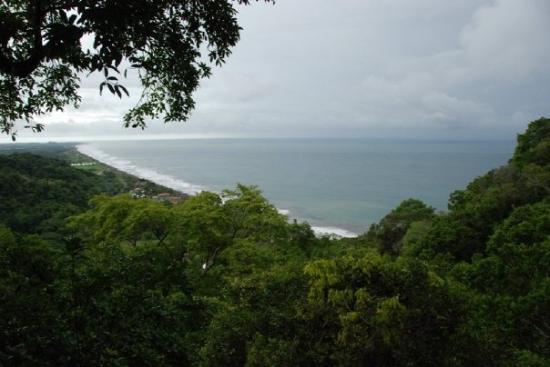 จาโค, คอสตาริกา: View from the zipline platform.