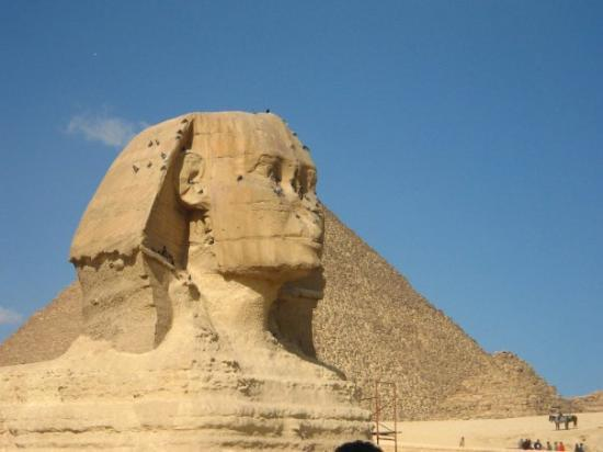 สฟิงซ์: The Sphinx at Pyramids of Giza