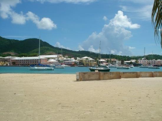 คริสเตียนสเต็ด, เซนต์ครอย: beach at Hotel on the Cay