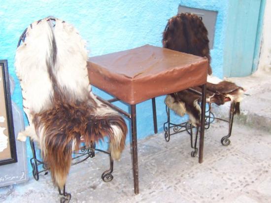เมือง Chefchaouen, โมร็อกโก: Taking fur to a whole new level...