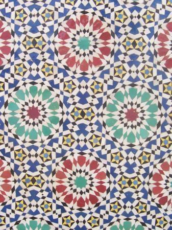 ฟาซ, โมร็อกโก: Awesome tiles