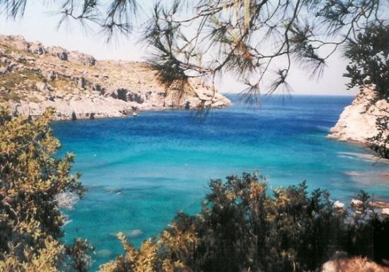 Rhodes, กรีซ: Antony Quinn Bay, Insel Rhodos