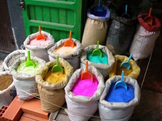 Tetouan, โมร็อกโก: Mundo de colores