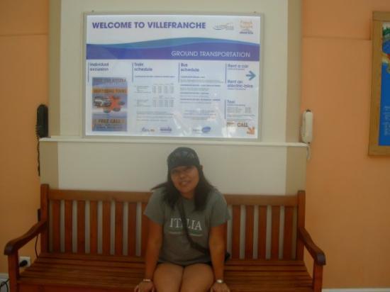 นีซ, ฝรั่งเศส: Welcome to villefranche