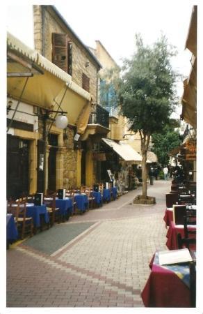 """นิโคเซีย, ไซปรัส: cipro 2003 - nicosia : quartiere """"laiki geitonia"""""""