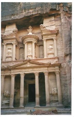 เปตรา/วาดีมูซา, จอร์แดน: giordania 2005 - petra (al pomeriggio tardi)