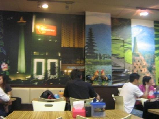 Ayam Penyet Ria: resto ayam Penyet di Lucky Plaza