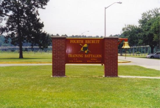 Parris Island... the first and LAST image I remember of the place.