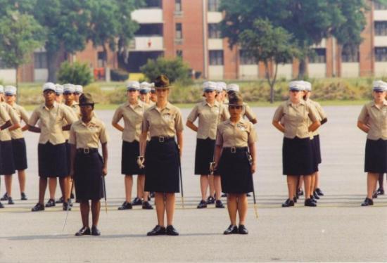 Parris Island, เซาท์แคโรไลนา: my platoon graduating