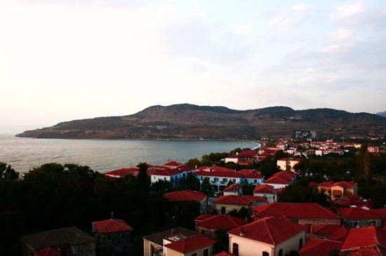 Lesbos, กรีซ: Grekland - våran by Petra