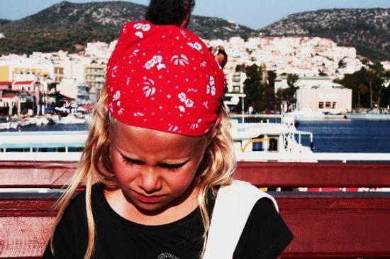 Ayvalik, ตุรกี: Turkiet - Sofia på båten