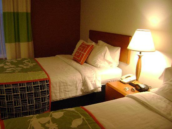 Fairfield Inn Idaho Falls: New Bedding