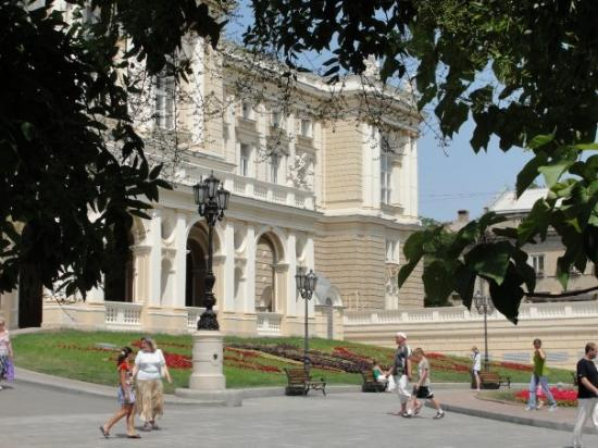 โอเดสซา, ยูเครน: Odessa Opera and Ballet Theater from another side