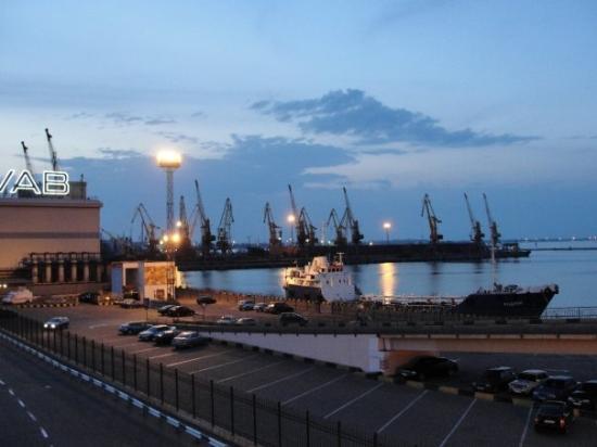 โอเดสซา, ยูเครน: Odessa sea port