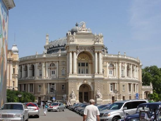 โอเดสซา, ยูเครน: Odessa Opera and Ballet Theater again... But in the day :)