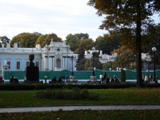 เคียฟ, ยูเครน: Mariyinsky Palace on reconstruction