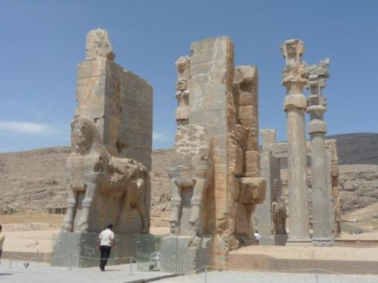 Persepolis or otherwise known as Takht-Jamsheed, the grandest capital of the Persian empire...sa