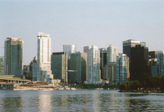 แวนคูเวอร์, แคนาดา: the view of downtown Vancouver from Stanley Park