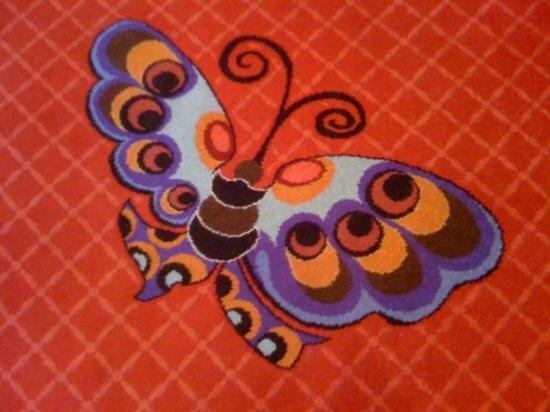 เอ็นคอร์ แอท วินน์ ลาสเวกัส โฮเต็ล: Encore with Butterfly carpet!