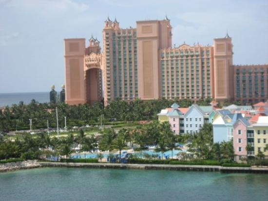 The Coral at Atlantis, Autograph Collection: We walked from downtown Nassua, this is the view from the bridge