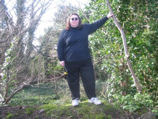 ลิเวอร์พูล, UK: Pattie inside Strawberry Field, Liverpool, March 2008...