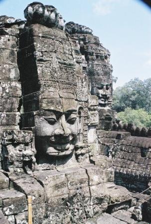 Angkor Thom: Angkor Wat Temple Complex, Cambodia Oct. 2002.