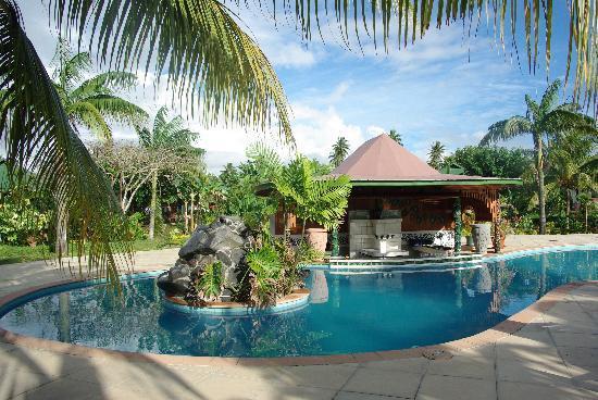 Amoa Resort: The pool