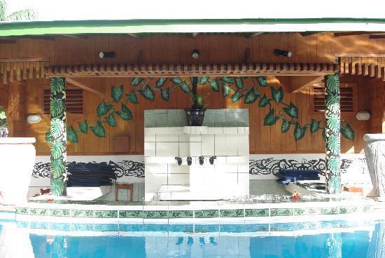 Amoa Resort: Pool bar