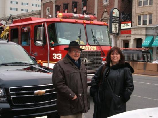 บอสตัน, แมสซาชูเซตส์: fire camion