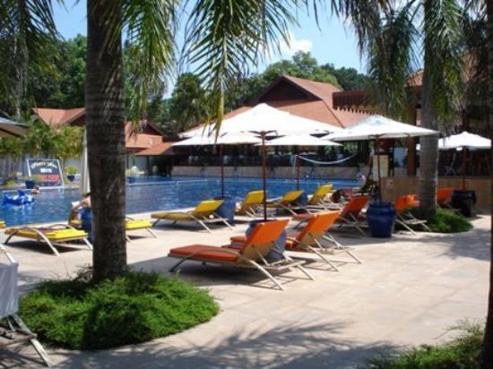 Cherating, มาเลเซีย: Pool view