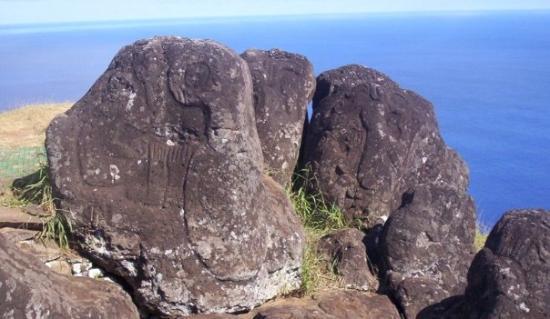 เกาะอีสเตอร์, ชิลี: jeroglificos