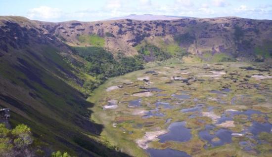 เกาะอีสเตอร์, ชิลี: mas volcan