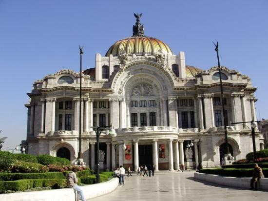 เม็กซิโกซิตี, เม็กซิโก: Palacio de Bellas Artes