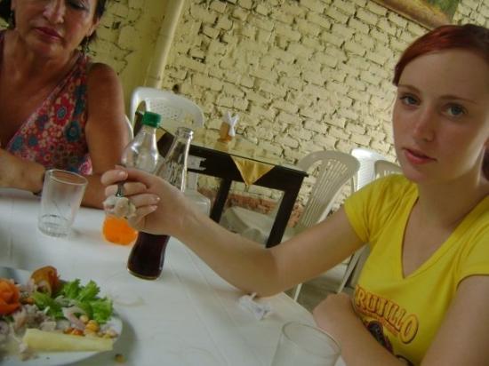 Piura, เปรู: ceviche eten:D