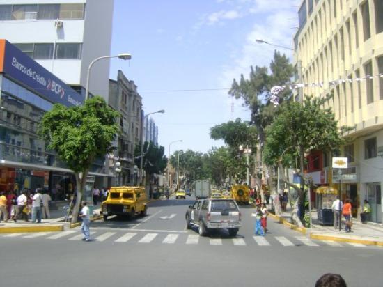 In het centrum van Piura