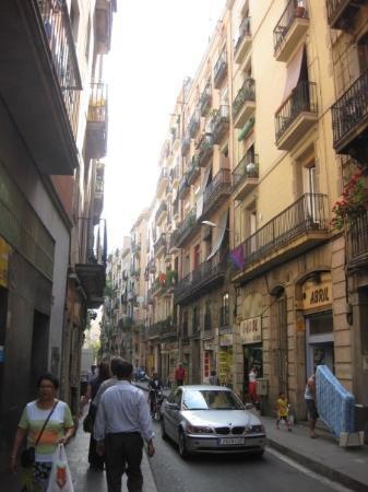 โกธิคควอเตอร์: Street scene - Barri Gotic