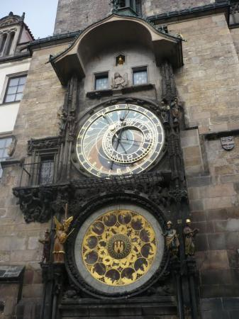 Old Town Hall with Astronomical Clock: L'horloge astronomique