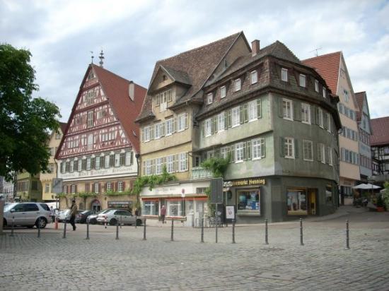 Esslingen am Neckar, เยอรมนี: ...of the main square...