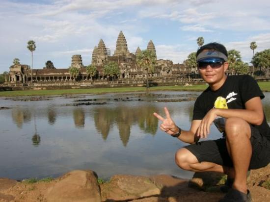 นครวัด: angkor wat, cambodia