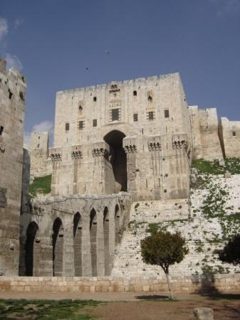 Aleppo Citadel ภาพถ่าย