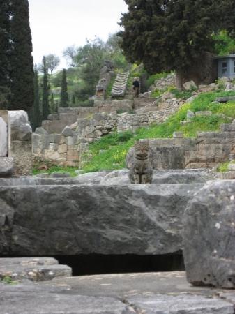 เมืองโบราณเดลฟี ภาพถ่าย