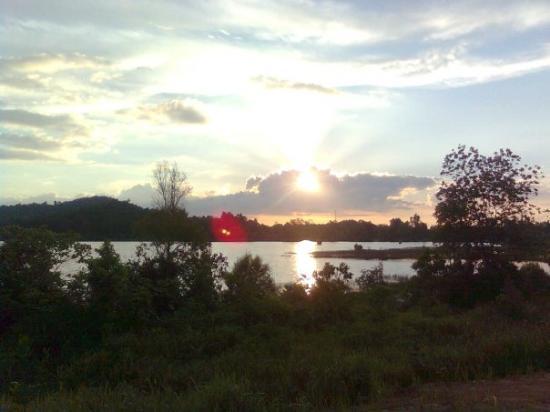Pontianak, อินโดนีเซีย: Sore yg indah