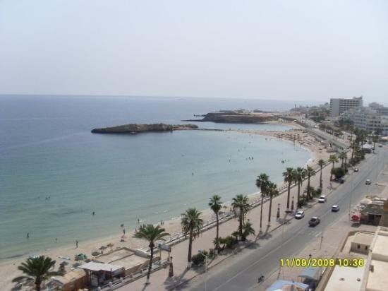 Monastir Town-The view from the top of the Museum.....it was amazing...Beautiful sea