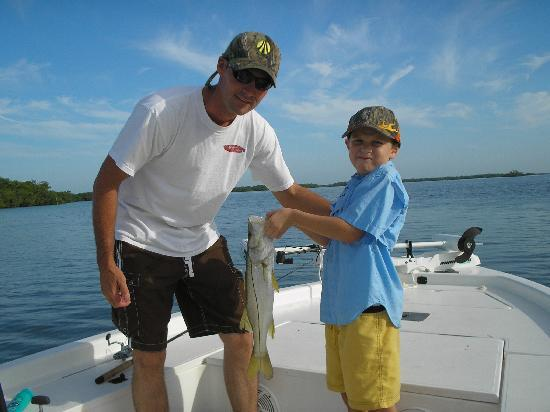 Fish Warrior Charters: Kenneth's first snook